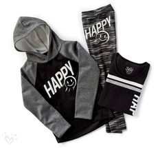 The Play Like a Girl Collection: 3 pieces. 1 winning look. Fuel your all-star attitude with hoodies, tees and leggings in your favorite sports and sayings. Sporty Outfits, Athletic Outfits, Outfits For Teens, Cool Outfits, Tween Fashion, Little Girl Fashion, Girls Sports Clothes, Gymnastics Outfits, Justice Clothing