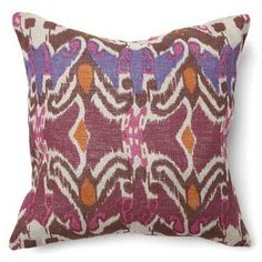 Boho Ikat Pillow