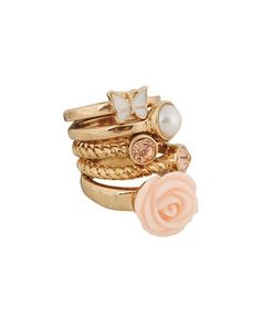 Spring Stackable Ring Set - StyleSays