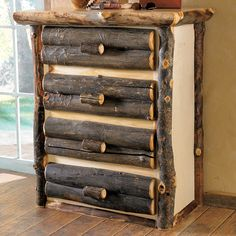 Aspen Log Chest of Drawers