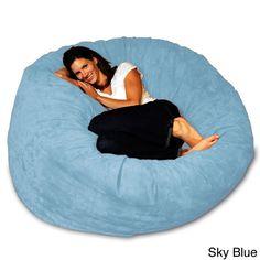 57ec7b41b5fd Latitude Run Microsuede Bean Bag Sofa