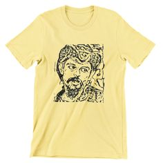 Grateful Dead Pigpen T Shirt / Jerry Garcia / Bob Weir / Hand screen-printed Men's / Ladies / Fitted / Buy any two shirts get one free! by cottonpickincrazy on Etsy