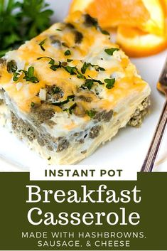 YES, you can make a delicious, easy breakfast casserole right in your Instant Pot. Keep the heat out of the kicthen and whip up this simple egg casserole made with sausage, hashbrowns, and cheese. So good! Healthy Make Ahead Breakfast, Make Ahead Breakfast Casserole, Delicious Breakfast Recipes, Vegan Recipes Easy, Easy Dinner Recipes, Kitchen Recipes, Cooking Recipes, Homemade Waffles, Vegetable Smoothies