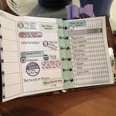 @diyfish inserts in my Pocket Malden with #planneraddictbox goodies…