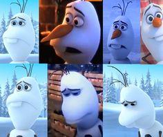 Olaf at his saddest