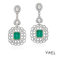 Happy Tuesday! Let our regal emerald earrings get you through the week!