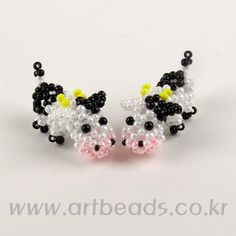 Beaded Cow PATTERN artbeads