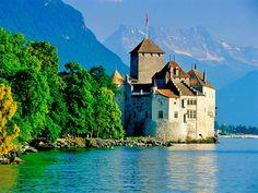 Geneva, Switzerland  Chateau Chillion, in Montreaux