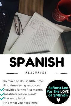 Time saving activities for beginning Spanish and Spanish 1! Engage your students and make Spanish FUN!