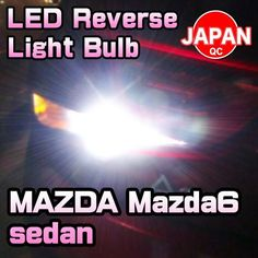 LED Reverse Light Bulb 2 Pieces For MAZDA Mazda6 sedan 2014-up
