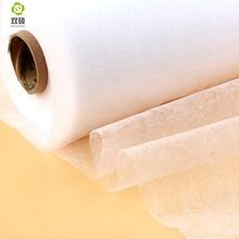 Ancho 112 cm accesorios de BRICOLAJE tela Del remiendo de tela forro de tela adhesiva de Doble cara Es Necesario utilizar plancha eléctrica(Hong Kong)