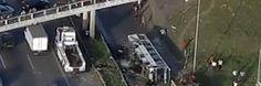 Canadauence TV: Ônibus cai de viaduto na Bahia
