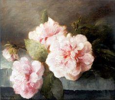 2D Roze rozen stilleven schilderij.Tweedimensionaal noemen we zaken die twee richtingen (dimensies) hebben: lengte en breedte (hoogte en breedte). Ze zijn dus vlak of plat. 2D zijn schilderijen , tekeningen , foto's etc .