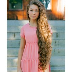 Her hair is perfection