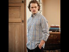 Outlander Sam Heughan for Barbour @surana17