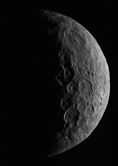 Waxing Crescent Ceres