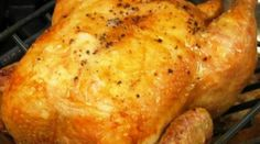 Fall Roast Chicken Recipe with Apple Cider And Herbs