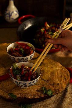 Yerbabuena en la cocina: Pollo cantonés