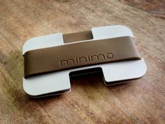 Minimo | A slim aluminium wallet with a difference by Izzie Whitfield — Kickstarter
