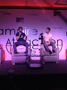 Ian Somerhalder and Paul Wesley at 2nd Day at Vampire Attraction Con in Rio, Brazil 2015 (05/03/15)