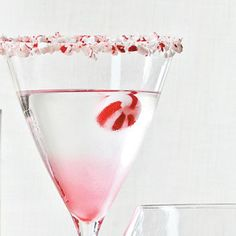 Candy Cane Martini - Holidays