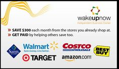 #wakeupnow #thousandsofstores you can start saving on items you use already. Www.alpinkerton.wakeupnow.com take a look on how you can start saving.