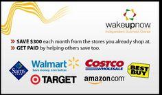 #wakeupnow #thousandsofstores you can start saving on items you use already. Www.alpinkerton.wakeupnow.com take a look on how you can start saving.