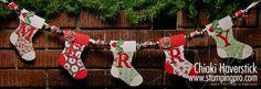 merrybanner stampin up stocking die