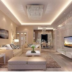 Living Room Interior Design : Living Room Designs That Will Leave You Speechless – Beautiful House Small Living Room Design, House Design, Living Room Interior, Luxury Living Room, Luxury Interior, Living Room Wall Color, Luxury Living, Home Decor, Room Design
