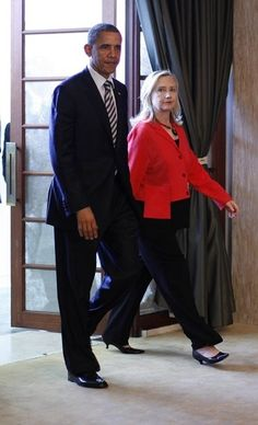GOD I love Hillary Clinton. Not so much the other person in this picture. But Hill - like a boss
