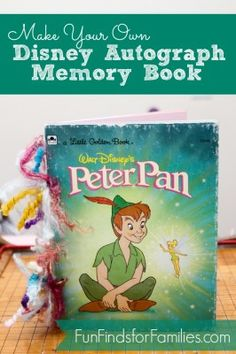 Disney Autograph Book - DIY Tutorial - Fun Finds For Families