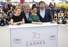 Festival de Cannes 2017: Ricardo Darín, Dolores Fonzi y Santiago Mitre, en una noche bien argentina
