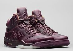 Official Images + Release Date: Air Jordan 5 Premium Bordeaux