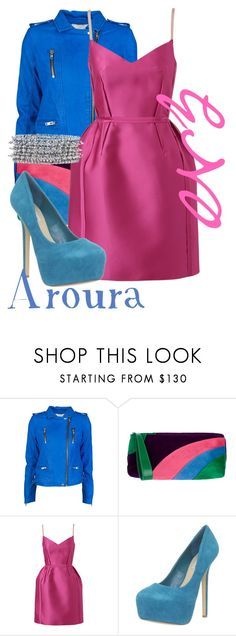 """""""Aroura GNO"""" by shannyogal ❤ liked on Polyvore featuring IRO, Casadei, Lanvin, Steve Madden and Philippe Audibert"""