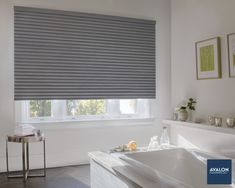 Sonnette™ Cellular Roller Shades feature an innovative design that provides unique dimensional beautynn#hunterdouglas #windowtreatments #homedesignn