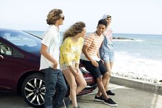 There's room for one more friend on this adventure to the beach. Any takers? The Honda Civic is waiting.
