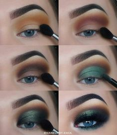 Drei wesentliche Make-up-Tipps: Lidschatten – Dress Models # three # green eyeshadow looks # eyeshadow # makeup tips # essential three essential makeup tips: eye shadow ignore the Eye Makeup Tips, Makeup Hacks, Makeup Inspo, Makeup Art, Makeup Inspiration, Beauty Makeup, Makeup Ideas, Makeup Products, Makeup Geek