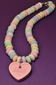 Hey, I found this really awesome Etsy listing at https://www.etsy.com/listing/189982691/scented-pastel-faux-candy-necklace-with
