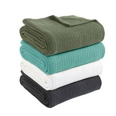 Shop for Fiesta Brand Cotton Thermal Blanket. Free Shipping on orders over $45 at Overstock.com - Your Online Blankets & Throws Destination! Get 5% in rewards with Club O! - 17858546