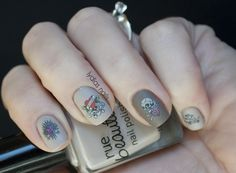 Tattoo nails by Lydia's Nails