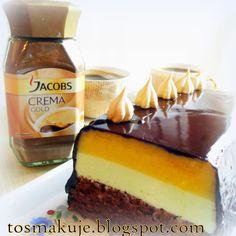 Dziś zapraszam na doskonałe ciasto do kawki. Nie jest za słodkie. Delikatne, piankowe i wilgotne. Bardzo subtelnie wyczuwalny kwasek agrestu...