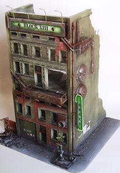 Apocalyptic building.