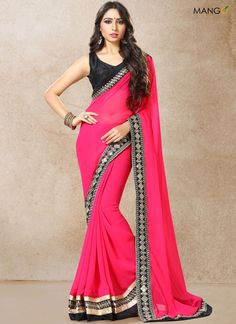 ARRESTING EMBROIDERED WORK CLASSIC DESIGNER SAREE