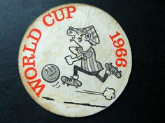 World Cup 1966 Beermat - Andy Capp. Produced by Daily Mirror for the tournament