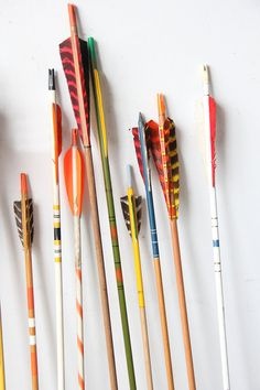 Collection of Vintage Arrows Set of 5 via GallivantingGirls on Etsy, 29.00