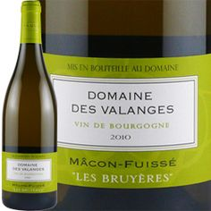 Macon-Fusse, Domaine des Valanges (France) Delicious chardonnay fruit with a lovely mineral streak. www.powerscourt.ie/weddings