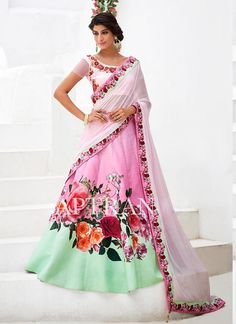 Lehenga Traditional Ethnic wear Wedding Pakistani Indian Bridal Choli Bollywood #KriyaCreation #CircularLehenga