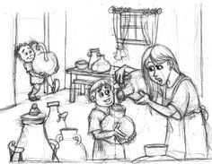 """Azeite da viúva - Depois entre em casa com seus filhos e feche a porta. Derrame daquele azeite em cada vasilha e vá separando as que você for  enchendo"""". 2 Reis 4:4"""