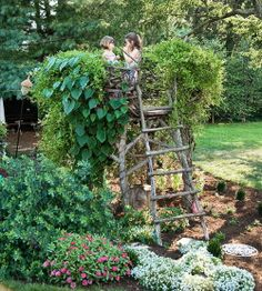 garden lookout tower!
