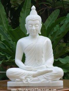 ภาพ พระพุทธ รูป สวย ๆ - Google Search Buddha Zen, Buddha Quote, Budha Art, Jade Buddha Statue, Zen Garden Design, Buddha Sculpture, Meditation Garden, Thai Art, Hindus